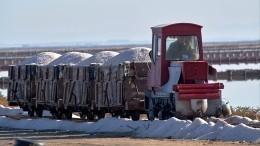 Работники соледобывающего предприятия «Аралтуз» вКазахстане бастуют 9-й день