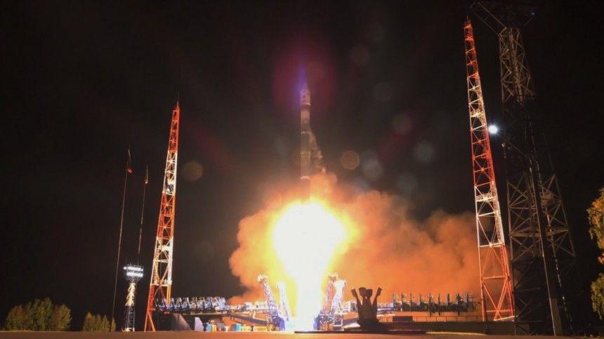 Появилось видео запуска скосмодрома Плесецк ракеты «Союз-2.1В»