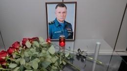 Церемония прощания сЕвгением Зиничевым начинается вМоскве