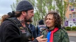 «Ночные волки» высадили аллею «Русского Леса» наСаур-Могиле под Донецком