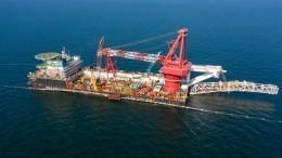 «Газпром» объявил озавершении строительства «Северного потока— 2»