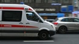Подросток наиномарке сбил маму спятилетним сыном натротуаре вМоскве