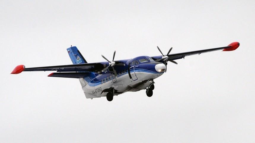 Названа предварительная причина крушения самолета под Иркутском