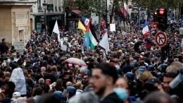 Волна антиковидных протестов вновь накрыла Европу