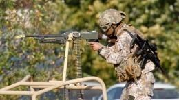 Военные устроили учения сострельбой вцентре Риги инапугали прохожих