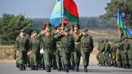 Российские военные впервые применили роботов научениях