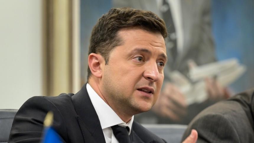 Зеленский опозорился винтервью журналисту изСША, отвечая навопрос оНАТО