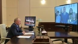 Путин провел встречу сгубернатором ипредставителями Тульской области