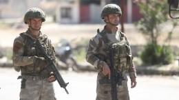 Более 200 боевиков сдали оружие всирийской провинции Дераа