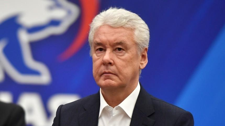 Собянин представил свой список кандидатов вдепутаты Госдумы