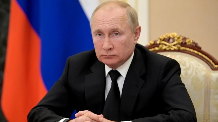 Путин: Вокружении несколько десятков человек заболели коронавирусом
