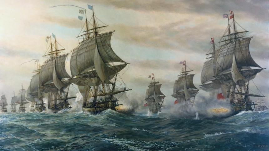 Франция отменила совместное сСША празднование годовщины Чесапикского сражения