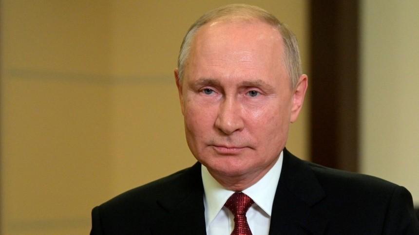 Путин проголосовал онлайн навыборах депутатов Госдумы