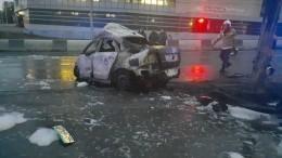 Три человека сгорели заживо после ДТП вНовосибирске