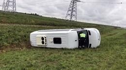 Врезультате вДТП савтобусом вВологодской области пострадали 11 человек