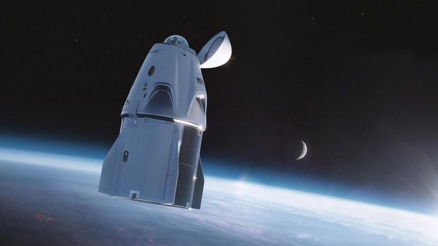 Космические туристы наСrеw Drаgоn вернулись наЗемлю