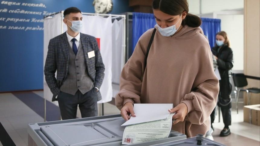 ЦИК: Явка навыборах вГосдуму РФсоставила 35,69 процента