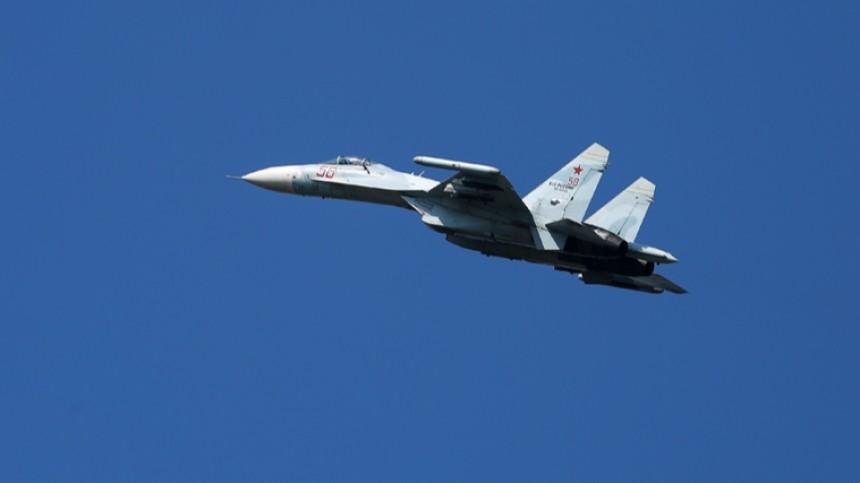 Минобороны США поздравило своих летчиков картинкой стремя Су-27 вTwitter