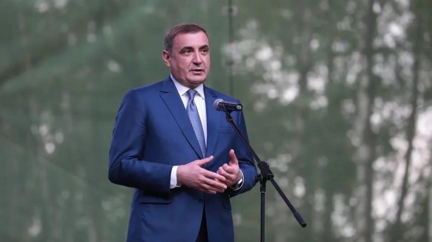 Губернатор Тульской области Дюмин навыборах набирает более 85% голосов
