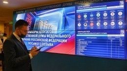 «Единая Россия» набирает более 40% голосов после подсчета 12,25% протоколов