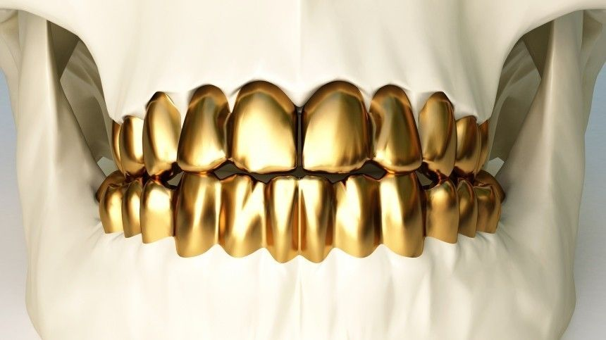 Контрабандист набрал полный рот золота иназвал его искусственными зубами
