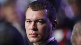 Дегтярев выиграл выборы губернатора Хабаровского края впервом туре