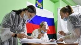 ВГосдуму поитогам выборов проходят пять партий