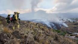 Сотни домов погребены под потоками лавы после извержения вулкана наКанарах