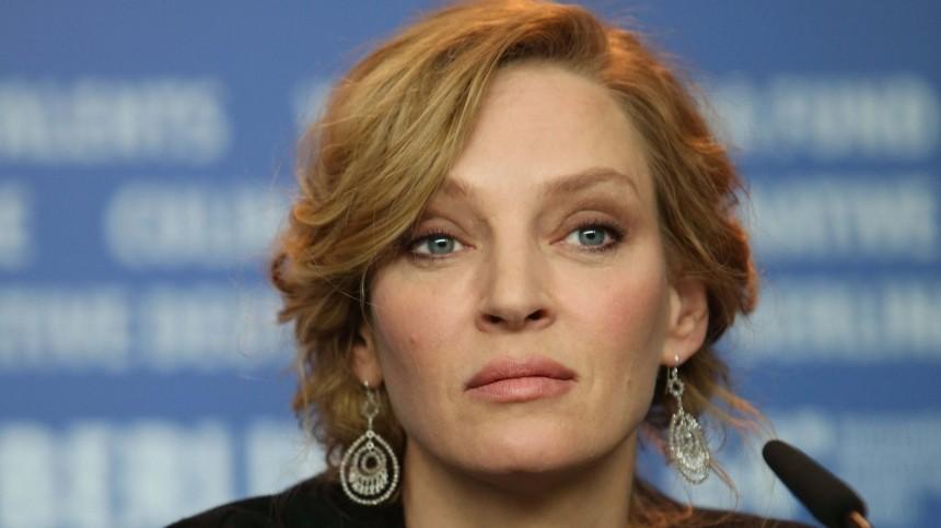 Актриса Ума Турман рассказала освоем аборте вподростковом возрасте