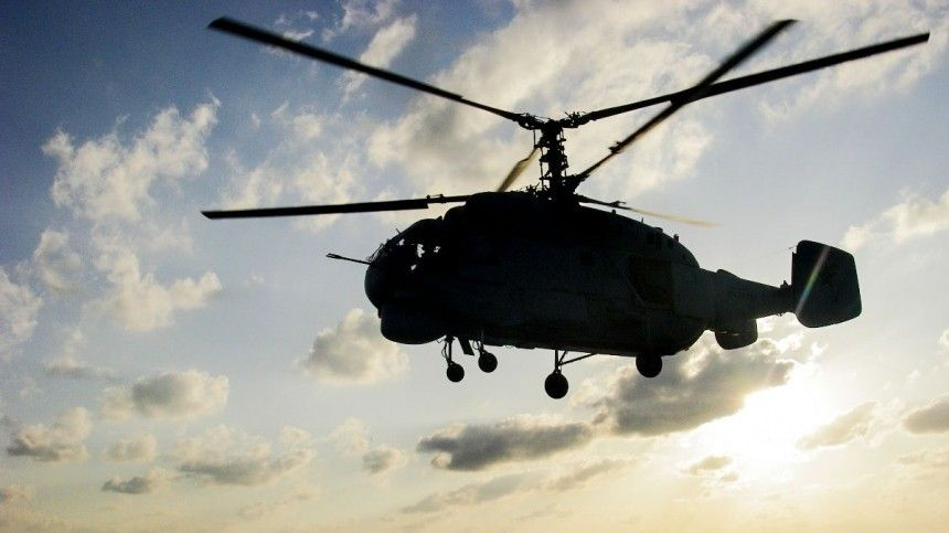 Вертолет Ка-27 невышел насвязь наКамчатке