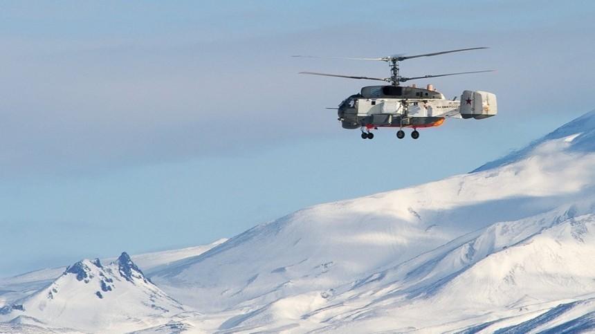 Пропавший наКамчатке Ка-27 совершил жесткую посадку