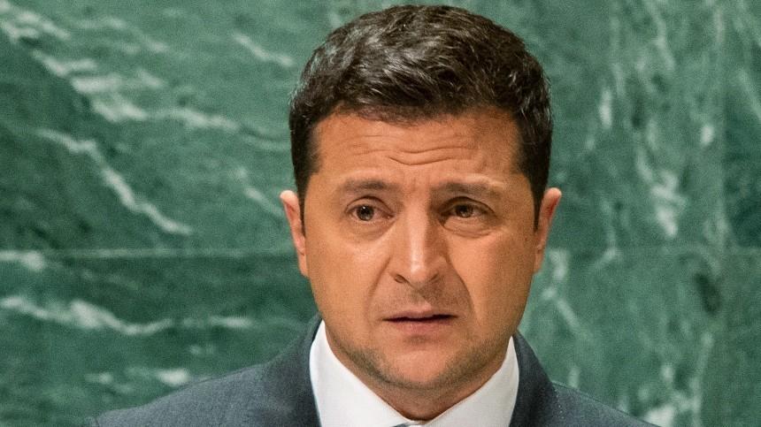 Зеленскому предрекли бегство вРоссию из-за скандального закона