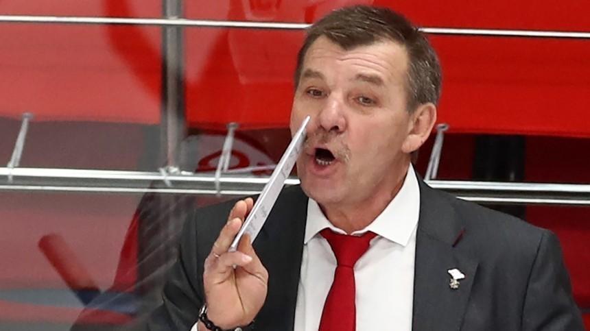 Олег Знарок вовторой раз стал главным тренером сборной России похоккею