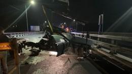 Сотрудники полиции погибли вДТП сгрузовиком уподмосковной Истры