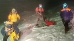 Появилось видео, сделанное задень дотрагической гибели альпинистов наЭльбрусе