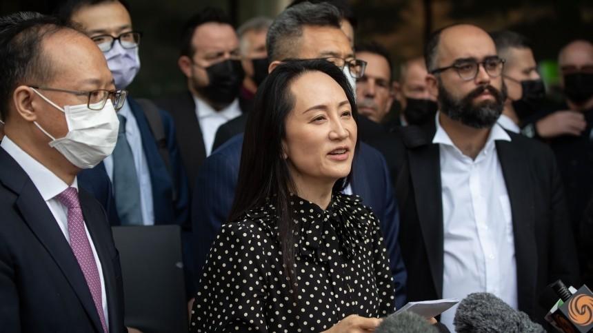 Китай освободил двух канадцев после вылета народину финдиректора Huawei