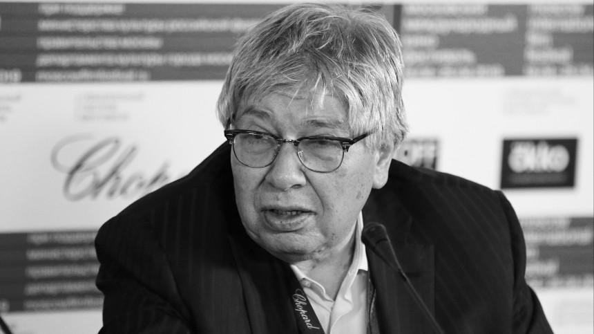Скончался президент Гильдии киноведов икинокритиков РФКирилл Разлогов