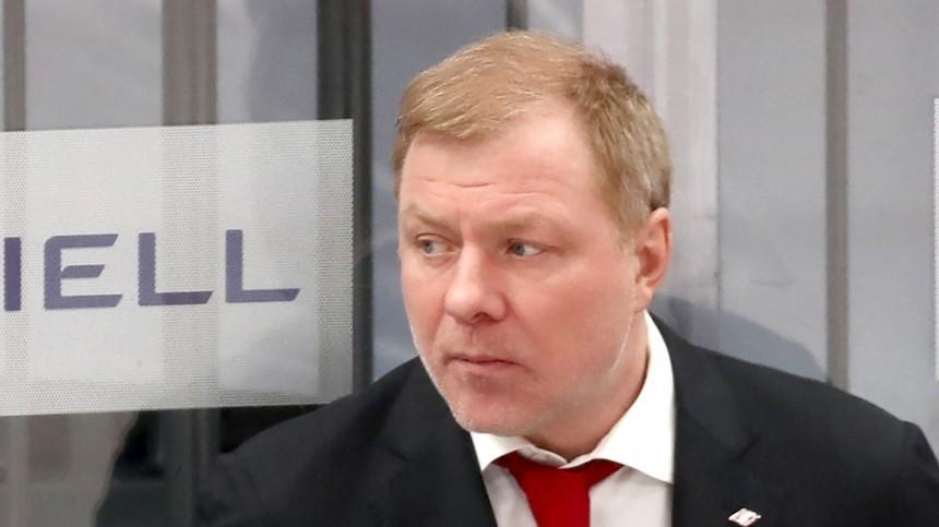 Главным тренером сборной России похоккею назначили Алексея Жамнова