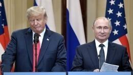 Только для камер! Трамп симулировал жесткость навстрече сПутиным вЯпонии