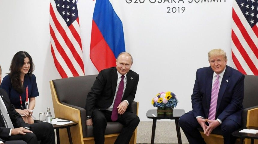 ВСША заподозрили, что Путин «отвлекал» Трампа отдел насаммите G20 красивой женщиной