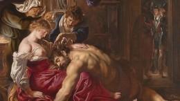 Нейросеть посчитала картину художника Рубенса «Самсон иДалила» подделкой