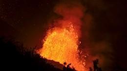 Вулканологи бьют тревогу из-за приближения лавы вИспании кокеану