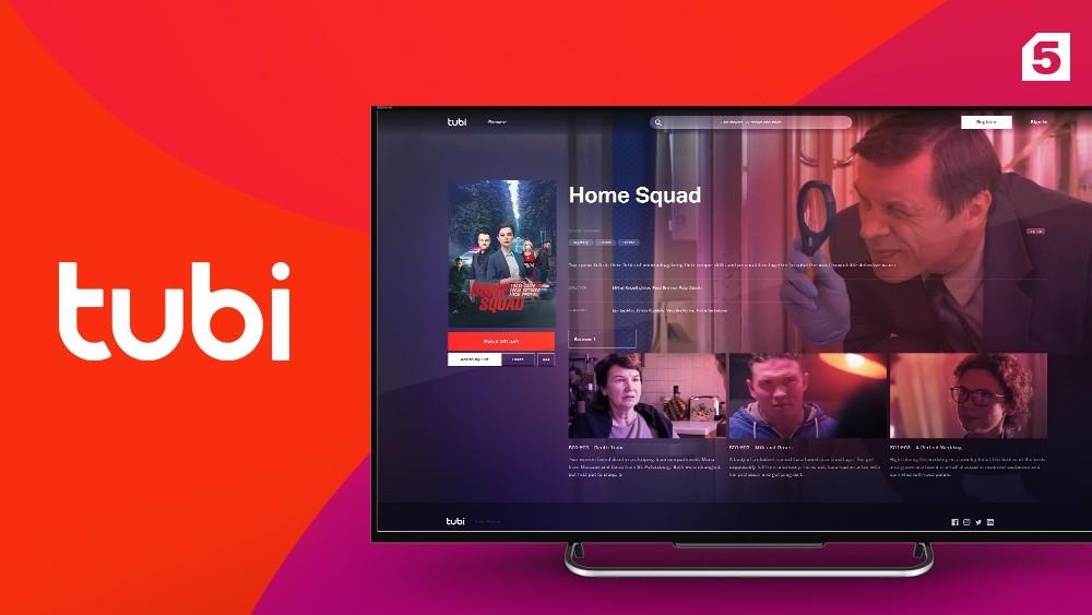 Пятый канал начал сотрудничество самериканской платформой Tubi TV