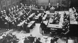 Преступления против мира: 75 лет содня окончания Нюрнбергского процесса