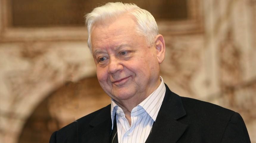 Стало известно настоящее имя внучки Олега Табакова, данное при крещении