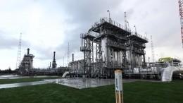 Первую нитку «Северного потока— 2» начали заполнять газом