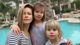 Дочери отправляющейся вкосмос Юлии Пересильд трогательно обратились кмаме