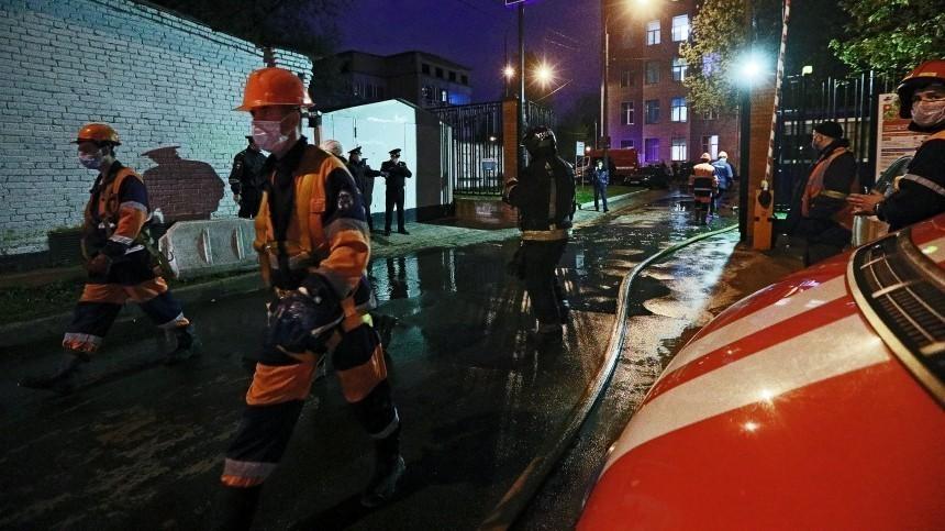 Пожар произошел винфекционной больнице вКирове