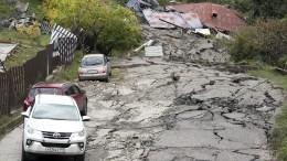 «Мам, пойдем. Падает все!»— дома разрушались наглазах жителей Сочи