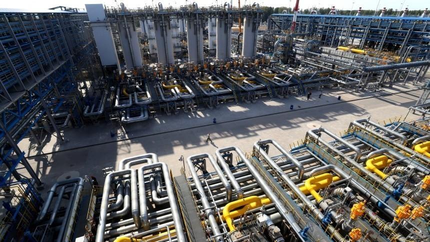 Газ вЕвропе впервые подорожал до$1600 затысячу кубометров